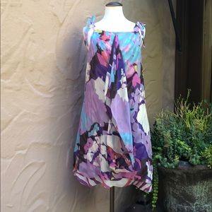 Diane Von Furststenburg  abstract swing dress.